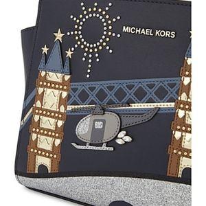 45ed7a145cf6 Michael Kors Bags - NWT Michael Kors Selma Nouveau Novelty Messenger